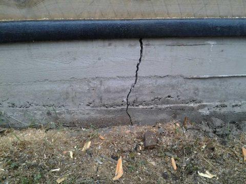 Усадка основания - причина отложить ремонт