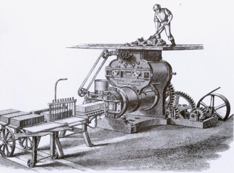Изображение механизированного производства