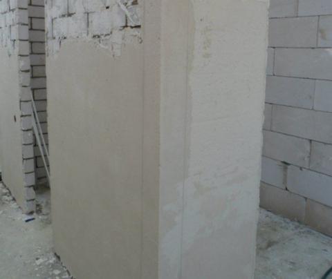 Оштукатуривание стены из кирпича