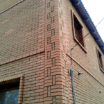 Оригинальное оформление углов фасада