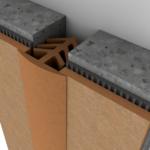 Профиль для заделки деформационных швов в стенах