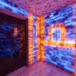 Дизайн комнаты с отделкой соляным кирпичом