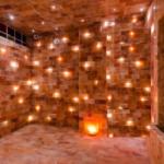 Интерьер комнаты из соляных материалов