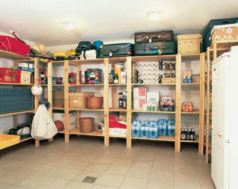 В доме должны быть подсобные помещения