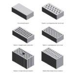 Керамические камни полнотелые или с вертикальными пустотами