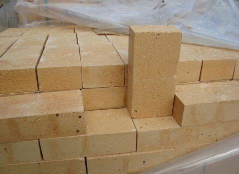 Шамотные материалы применяются для кладки печей