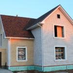 Хороший вариант дома из силикатного кирпича