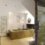 Интересное решение ванной комнаты
