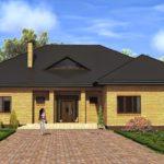Одноэтажный дом из керамики – удачное решение жилищного вопроса