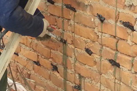 Инъецирование стеновых конструкций