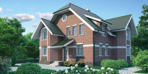 Проекты домов из газобетона и кирпича пользуются не малой популярностью