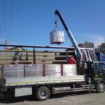 Погрузка и транспортирование облицовочных изделий производится очень аккуратно