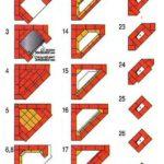 Схема рядов кладки