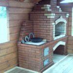 Такую конструкцию можно установить в доме или бане