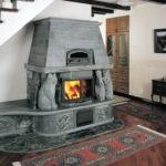 В комнатах с печью-камином должна быть хорошая вентиляция
