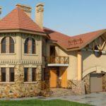 Дом, построенный из кирпича