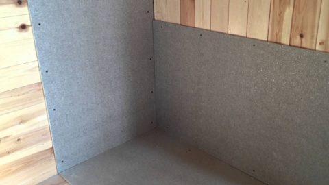 Изоляция деревянных стен и пола минеритом