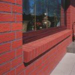 Образцы фасадов кирпичных домов