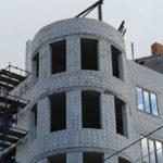 Строящаяся многоэтажка