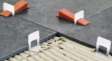 Система СВП обеспечит равномерные зазоры между плитами