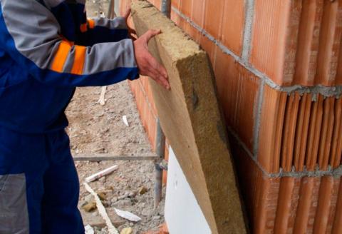 Утеплитель для стены из поризованного камня