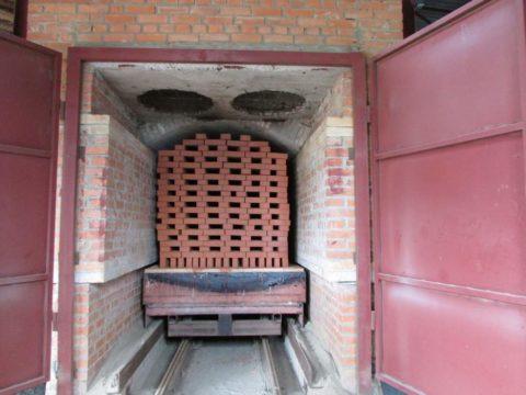 Туннельная печь для обжига керамического кирпича