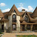 Современный дом в готическом стиле