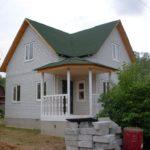 Дачный дом из силикатного кирпича