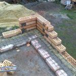 Кладка стеновых конструкций из керамики
