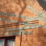 Правильная заделка трещин в кирпичной кладке – залог долголетия дома