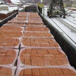 Транспортировка пакетированных материалов в полувагонах