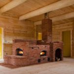 Топить комбинированную конструкцию лучше всего осиновыми дровами
