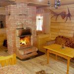 Уютная и теплая зона для отдыха