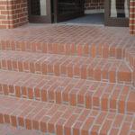 Лестница, выложенная из клинкера