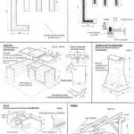 Схема строительства садового сооружения с навесом